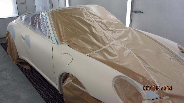 Porsche 6 – lakierowanie