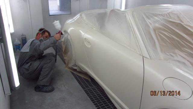 Porsche 7 – lakierowanie